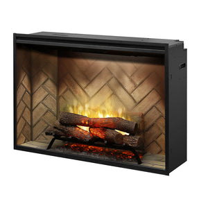 "Dimplex Revillusion® 42"" Built-In Electric Fireplace - RBF42"