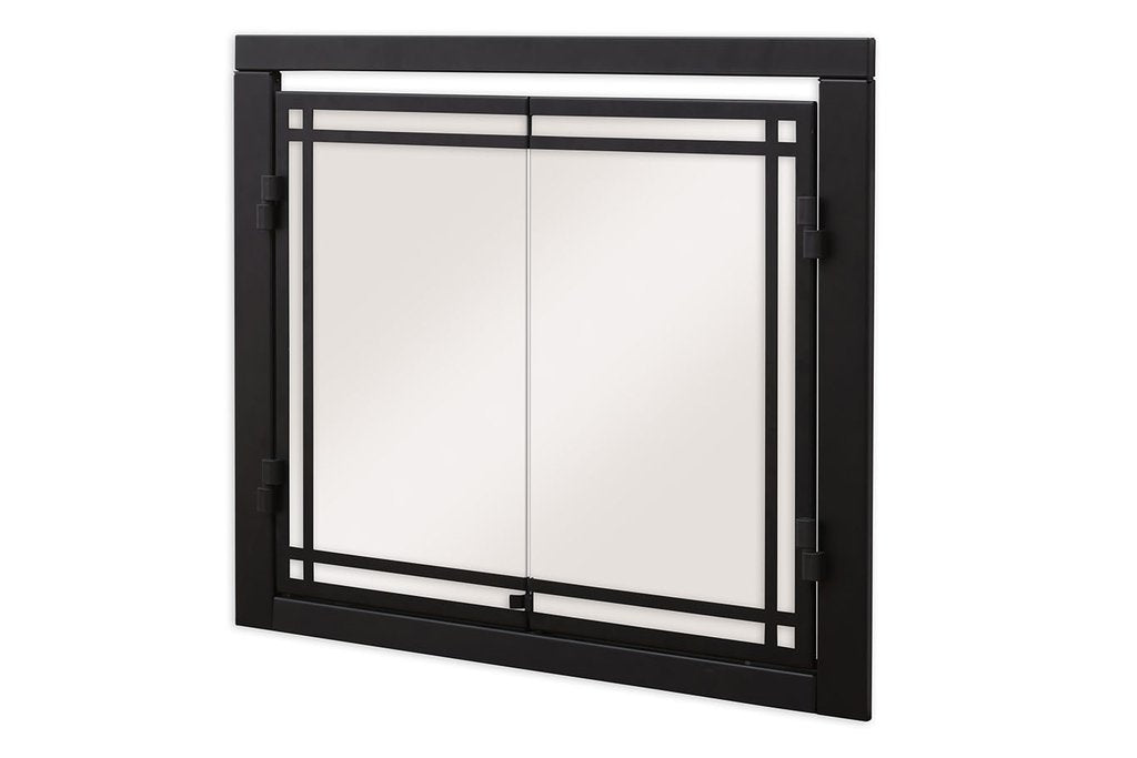 "Dimplex 36"" Portrait Revillusion® Double Glass Doors"