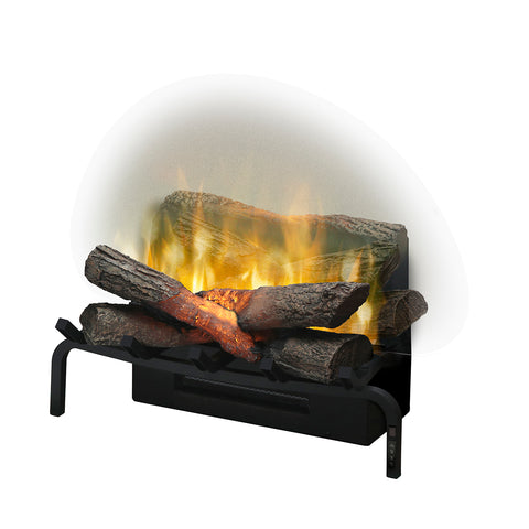 "Image of Dimplex Revillusion® 20"" Electric Fireplace Log Set - RLG20"