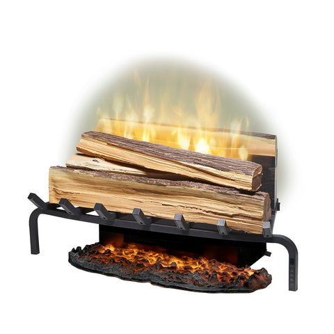 "Dimplex Revillusion® 25"" Electric Fireplace Fresh Cut Log Set w/ Ashmat - RLG25FC"