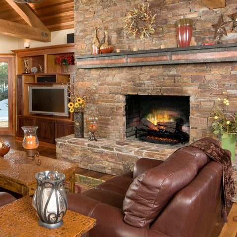 "Dimplex Revillusion® 25"" Electric Fireplace Log Set w/ Ashmat - RLG25"
