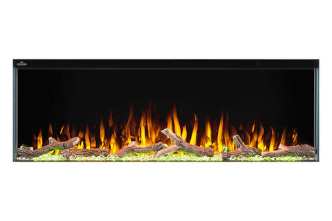 "Image of Napoleon Trivista 50"" 3 Sided Linear Electric Fireplace - NEFB50H-3SV"