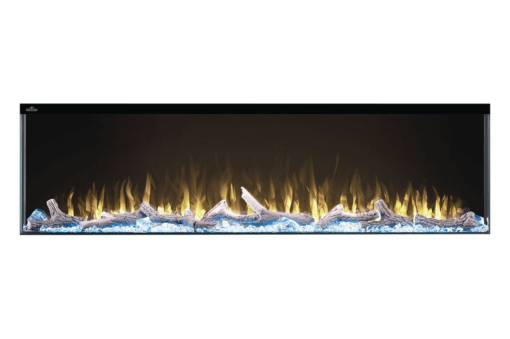 "Napoleon Trivista 50"" 3 Sided Linear Electric Fireplace - NEFB50H-3SV"