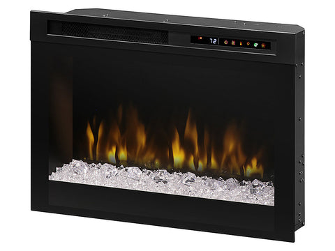 "Image of Dimplex 26"" Multi-Fire XHD Electric Fireplace Insert w/ Acrylic - XHD26G"
