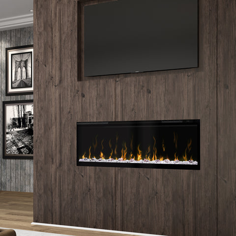 "Image of Dimplex Ignite XL 50"" Linear Wall Mount Electric Fireplace 