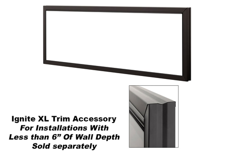"Image of Dimplex Ignite XL® 74"" Linear Electric Fireplace 