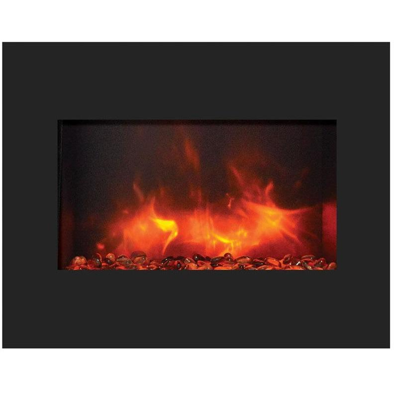 "Amantii  26"" Zero Clearance Electric Fireplace - Electric Fireplace - Amantii - ElectricFireplacesPlus.com"