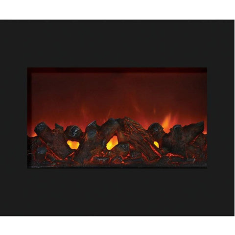 "Image of Amantii  30"" Zero Clearance Electric Fireplace - Electric Fireplace - Amantii - ElectricFireplacesPlus.com"