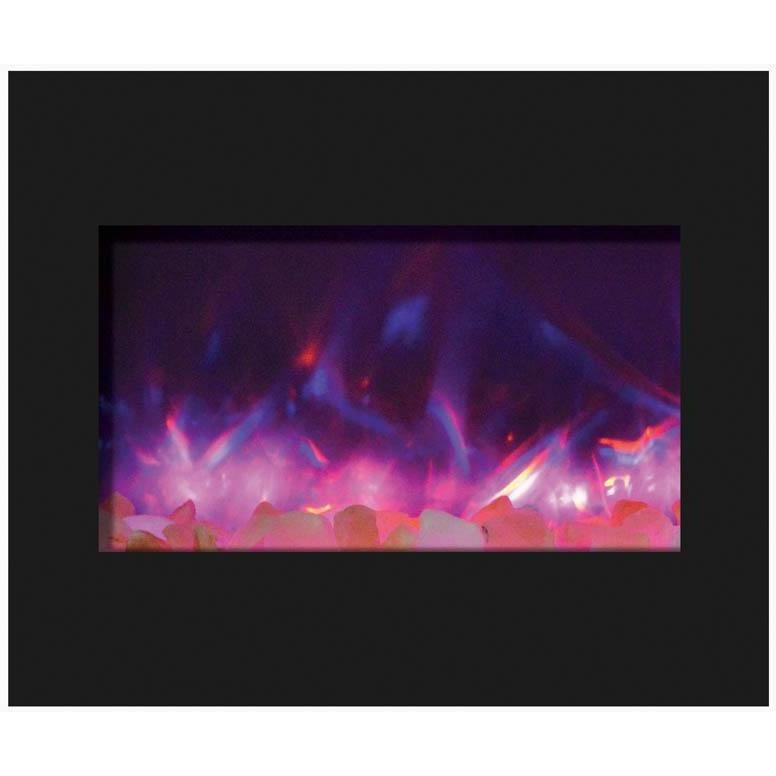 "Amantii  30"" Zero Clearance Electric Fireplace - Electric Fireplace - Amantii - ElectricFireplacesPlus.com"
