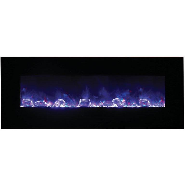 "Amantii  48"" Flush Mount Electric Fireplace - Electric Fireplace - Amantii - ElectricFireplacesPlus.com"