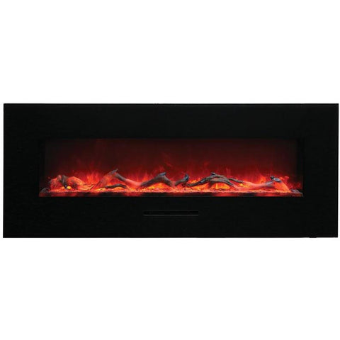 "Image of Amantii  48"" Flush Mount Electric Fireplace - Electric Fireplace - Amantii - ElectricFireplacesPlus.com"