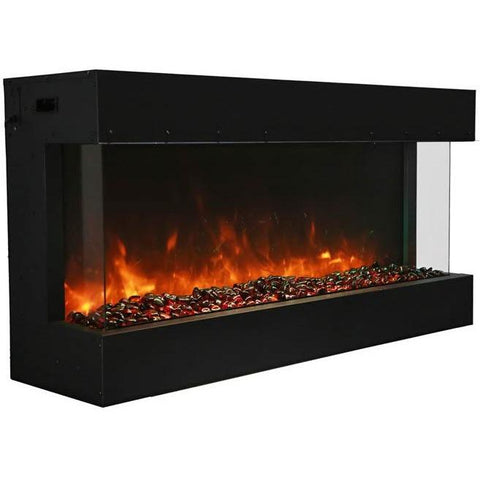 "Image of Amantii Tru View – 50"" electric fireplace - Electric Fireplace - Amantii - ElectricFireplacesPlus.com"