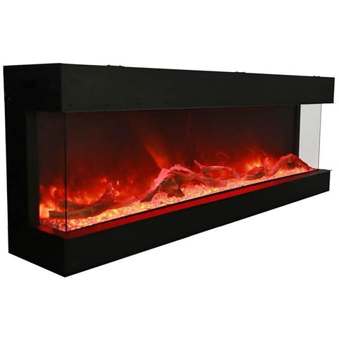 "Image of Amantii Tru View  – 72"" electric fireplace - Electric Fireplace - Amantii - ElectricFireplacesPlus.com"