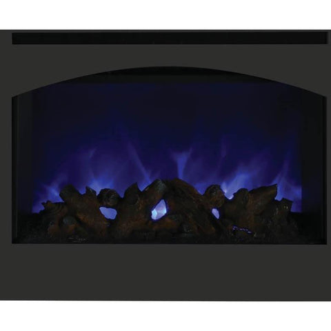 Image of Amantii ZECL-31-3228-STL-ARCH Zero Clearance Electric Fireplace - Electric Fireplace - Amantii - ElectricFireplacesPlus.com