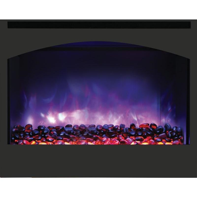 Amantii ZECL-31-3228-STL-ARCH Zero Clearance Electric Fireplace - Electric Fireplace - Amantii - ElectricFireplacesPlus.com