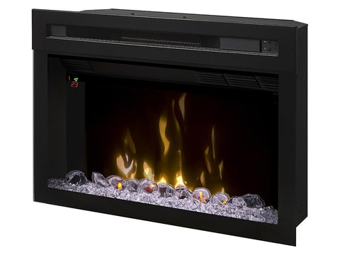 "Image of Dimplex 25"" Multi-Fire XD Electric Fireplace Insert With Glass - PF2325HG - Electric Fireplace - Dimplex - ElectricFireplacesPlus.com"
