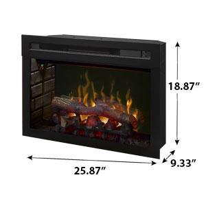 "Image of Dimplex 25"" Multi-Fire XD Electric Fireplace Insert With Logs - PF2325HL - Electric Fireplace - Dimplex - ElectricFireplacesPlus.com"