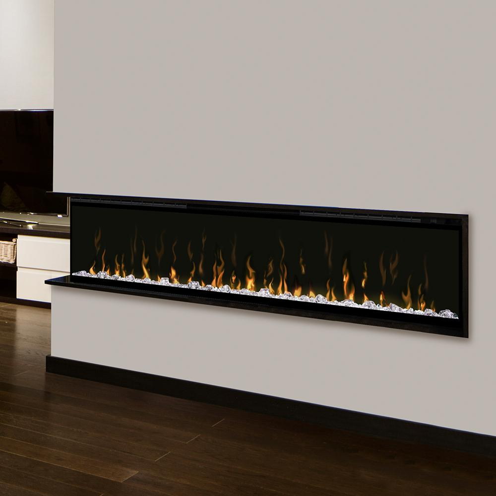"Dimplex Ignite XL® 74"" Linear Electric Fireplace - Electric Fireplace - Dimplex - ElectricFireplacesPlus.com"