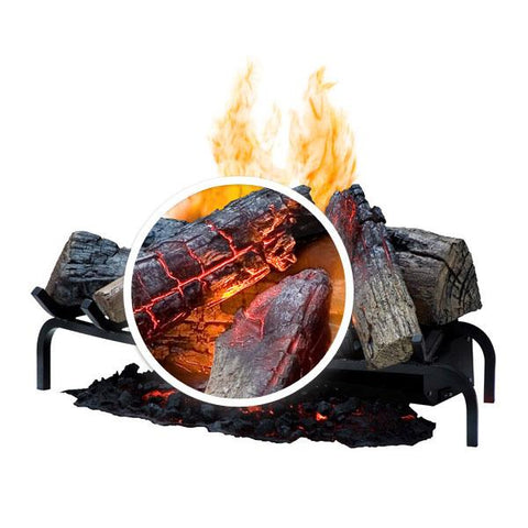 "Dimplex Opti-Myst® 28"" Electric Fireplace Log Set - DLGM29 - Electric Fireplace - Dimplex - ElectricFireplacesPlus.com"