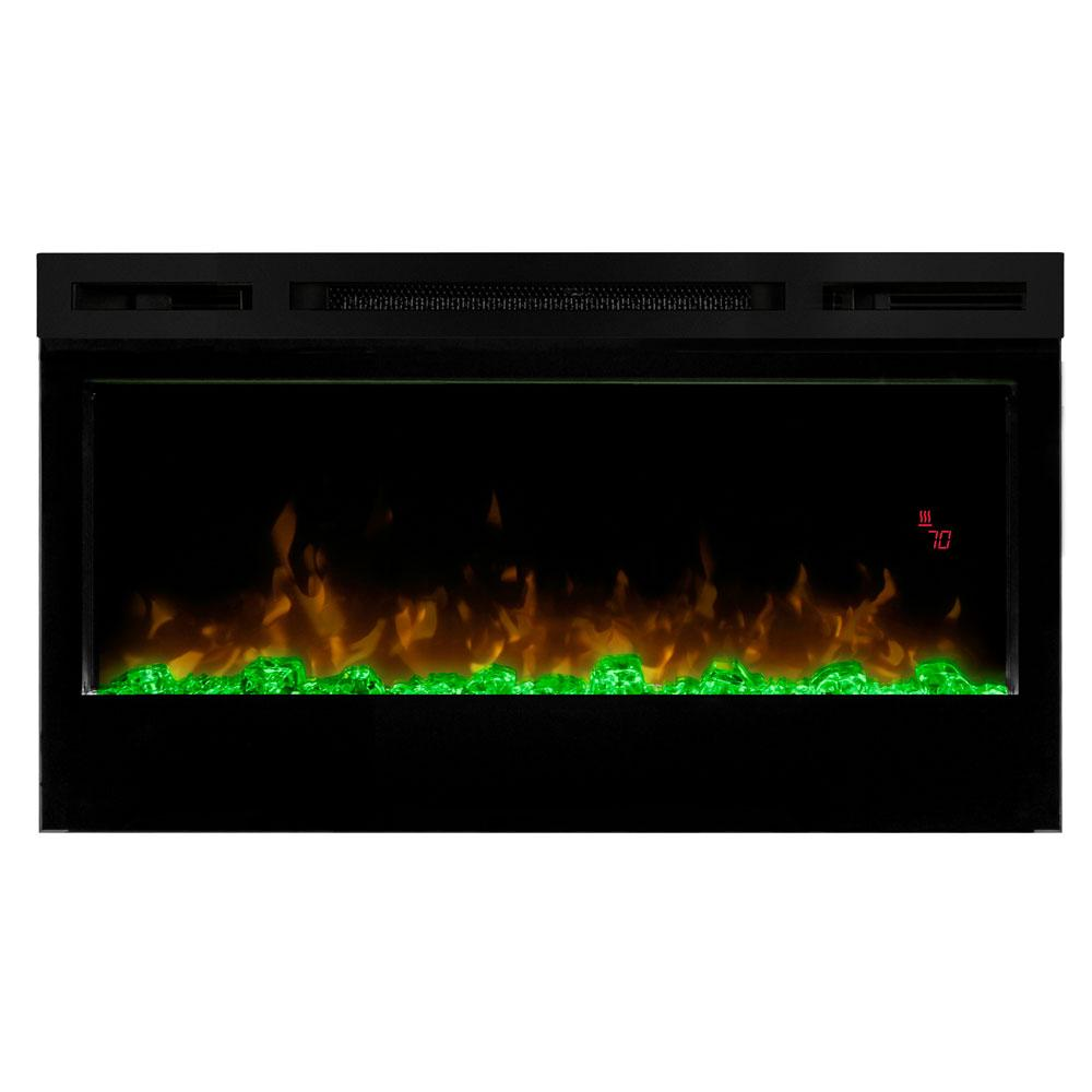 Dimplex Prism 34-in Electric Fireplace Wall-Mounted - Electric Fireplace - Dimplex - ElectricFireplacesPlus.com