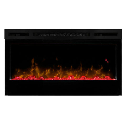 Image of Dimplex Prism 34-in Electric Fireplace Wall-Mounted - Electric Fireplace - Dimplex - ElectricFireplacesPlus.com