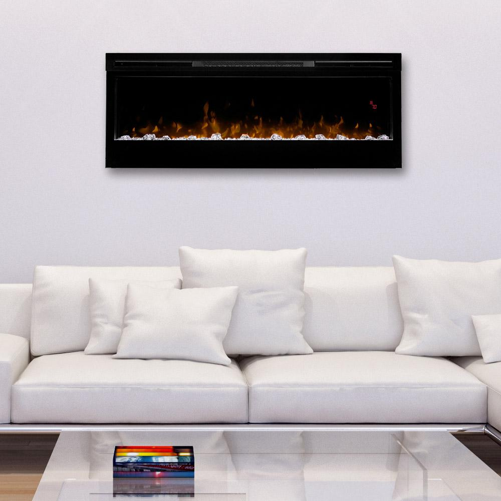 "Dimplex Prism 50"" Wall Mount Electric Fireplace - Electric Fireplace - Dimplex - ElectricFireplacesPlus.com"