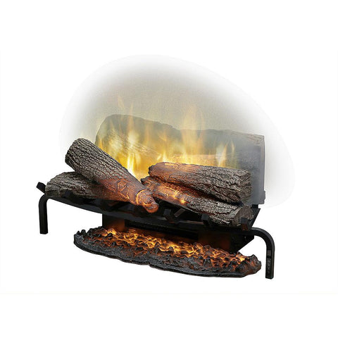 "Image of Dimplex Revillusion® 25"" Electric Fireplace Plug-In Log Set - Electric Fireplace - Dimplex - ElectricFireplacesPlus.com"