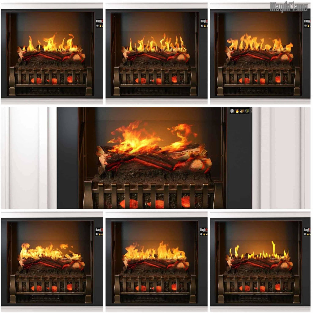 "MagikFlame Neo 28"" Electric Fireplace Mantel Package - Electric Fireplace - MagikFlame - ElectricFireplacesPlus.com"