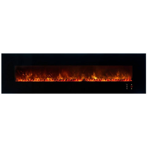 "Image of Modern Flames Ambiance CLX2 100"" Electric Fireplace - Electric Fireplace - Modern Flames - ElectricFireplacesPlus.com"