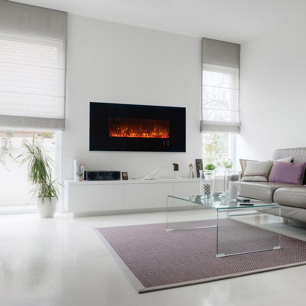 Modern Flames 60 Inch Electric Fireplace Linear Wall Mount