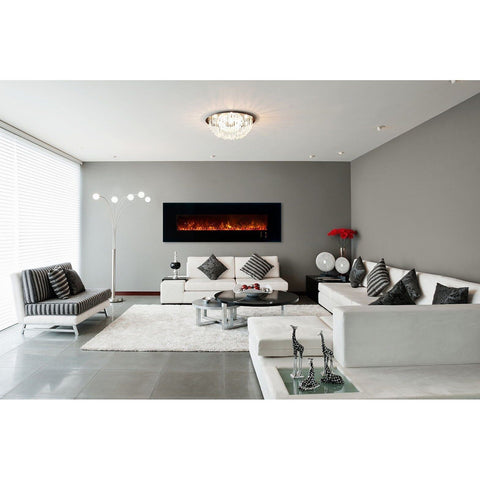"Image of Modern Flames Ambiance CLX2 80"" Electric Fireplace - Electric Fireplace - Modern Flames - ElectricFireplacesPlus.com"