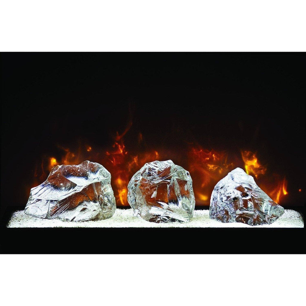 "Modern Flames - Home Fire Conventional 42"" Electric Fireplace Built-in - Electric Fireplace - Modern Flames - ElectricFireplacesPlus.com"