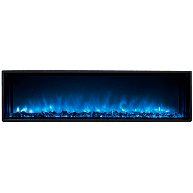"Modern Flames Landscape Fullview 2 80"" Electric Fireplace - Electric Fireplace - Modern Flames - ElectricFireplacesPlus.com"