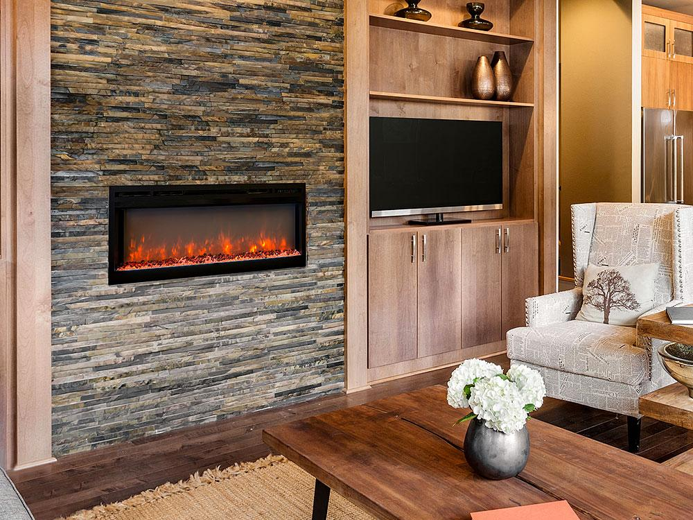 Modern Flames 50-inch Electric Fireplace Built In Flush ...