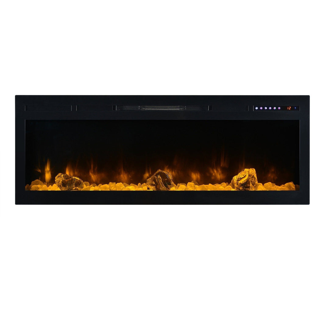 "Modern Flames Spectrum 74"" Electric Fireplace - Electric Fireplace - Modern Flames - ElectricFireplacesPlus.com"