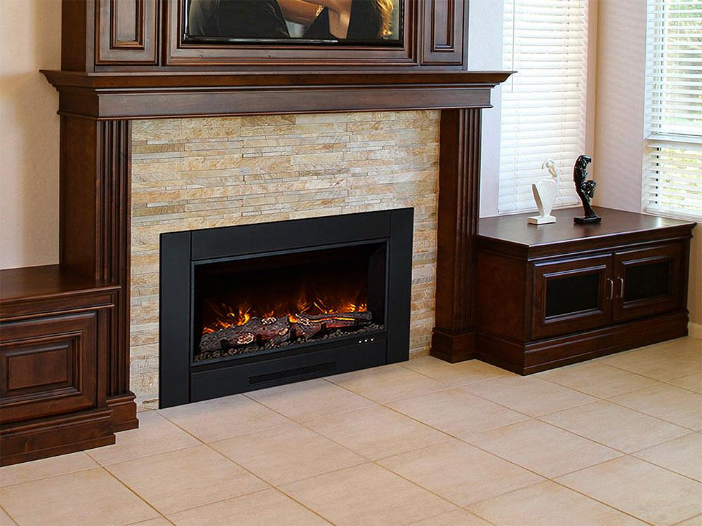 "Modern Flames ZCR 38"" Electric Fireplace Insert - Electric Fireplace - Modern Flames - ElectricFireplacesPlus.com"