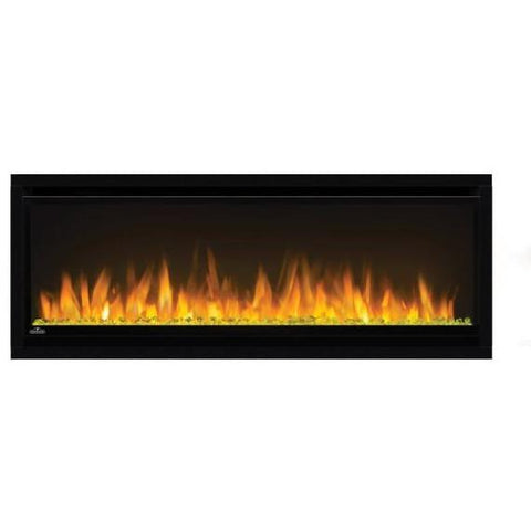 "Napoleon Alluravision 42"" Slim Wall Mount Electric Fireplace - NEFL42CHS - Electric Fireplace - Napoleon - ElectricFireplacesPlus.com"