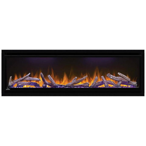 "Image of Napoleon Alluravision 50"" Wall Mount Electric Fireplace - Deep - Electric Fireplace - Napoleon - ElectricFireplacesPlus.com"