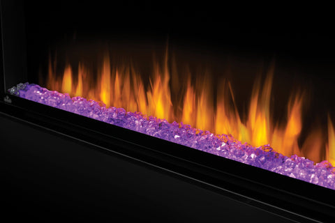 "Image of Napoleon Alluravision 60"" Wall Mount Electric Fireplace - Deep - Electric Fireplace - Napoleon - ElectricFireplacesPlus.com"