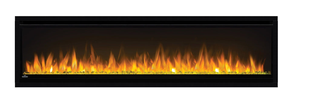 "Napoleon Alluravision 60"" Wall Mount Electric Fireplace - Slim - NEFL60CHS - Electric Fireplace - Napoleon - ElectricFireplacesPlus.com"