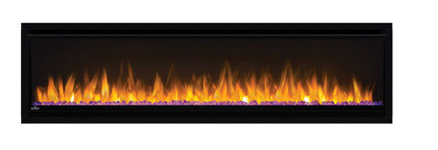 "Image of Napoleon Alluravision 60"" Wall Mount Electric Fireplace - Slim - NEFL60CHS - Electric Fireplace - Napoleon - ElectricFireplacesPlus.com"