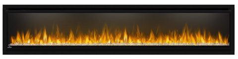 "Napoleon Alluravision 74"" Wall Mount Electric Fireplace - Deep - NEFL74CHD - Electric Fireplace - Napoleon - ElectricFireplacesPlus.com"