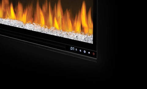 "Image of Napoleon Alluravision 74"" Wall Mount Electric Fireplace - Slim - NEFL74CHS - Electric Fireplace - Napoleon - ElectricFireplacesPlus.com"