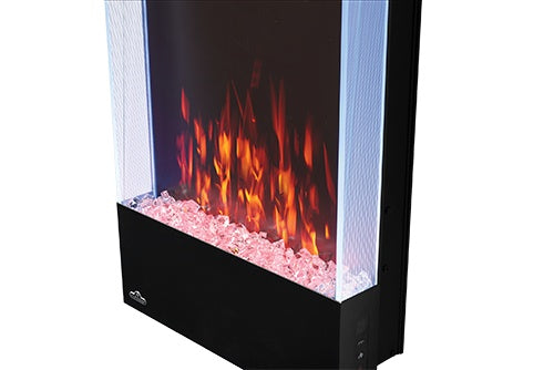 Napoleon Allure 32-in Vertical Wall Mount Electric Fireplace - Electric Fireplace - Napoleon - ElectricFireplacesPlus.com