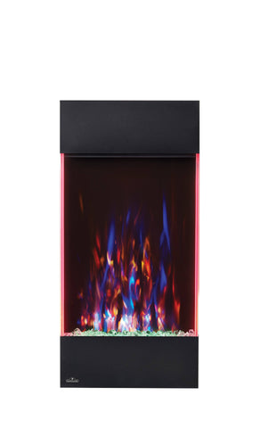 Image of Napoleon Allure 32-in Vertical Wall Mount Electric Fireplace - Electric Fireplace - Napoleon - ElectricFireplacesPlus.com