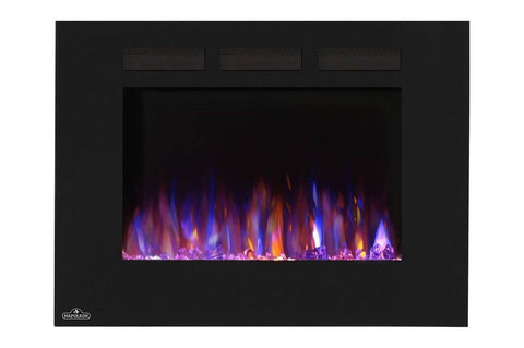"Napoleon Allure 32"" Linear Wall Mount Electric Fireplace - Electric Fireplace - Napoleon - ElectricFireplacesPlus.com"