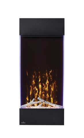 Napoleon Allure 38-in Vertical Wall Mount Electric Fireplace - Electric Fireplace - Napoleon - ElectricFireplacesPlus.com