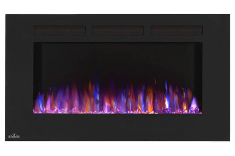 "Image of Napoleon Allure 42"" Linear Wall Mount Electric Fireplace - Electric Fireplace - Napoleon - ElectricFireplacesPlus.com"