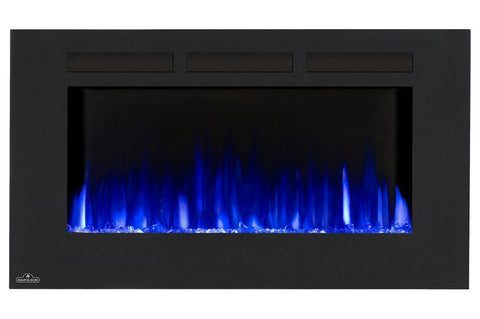 "Napoleon Allure 42"" Linear Wall Mount Electric Fireplace - Electric Fireplace - Napoleon - ElectricFireplacesPlus.com"