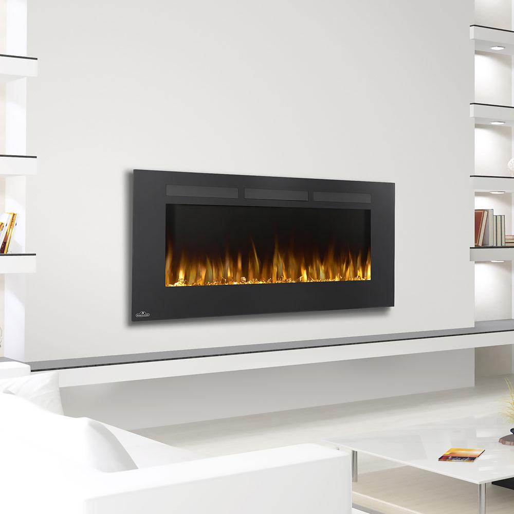 "Napoleon Allure 50"" Linear Wall Mount Electric Fireplace - Electric Fireplace - Napoleon - ElectricFireplacesPlus.com"